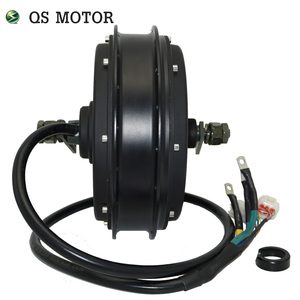 Image 2 - QS Motor  3000W 205  50H V3 Electric Hub Motor for electric bicycle 48/60/72V 4T/5T high speed Motor