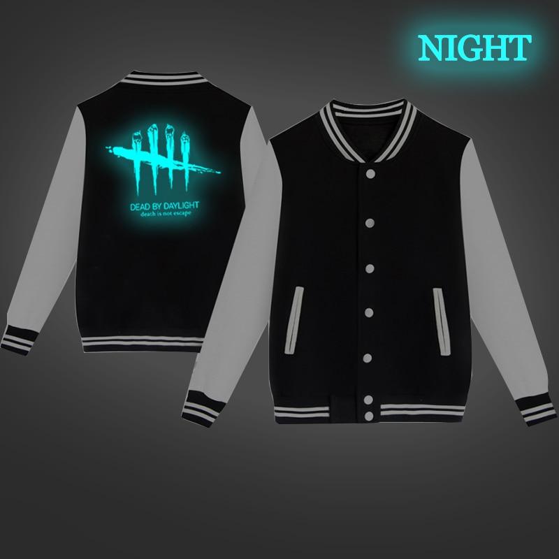 Unisex Fashion Baseball Jacket Dead By Daylight Baseball Uniform  Harajuku Sportswear Boys Girls Lovely Cotton Jackets Clothes 12