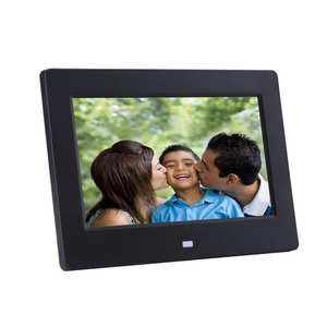 Digital-Photo-Frame Display with IPS Motion-Sensor USB And Sd-Card-Slots Remote-Control
