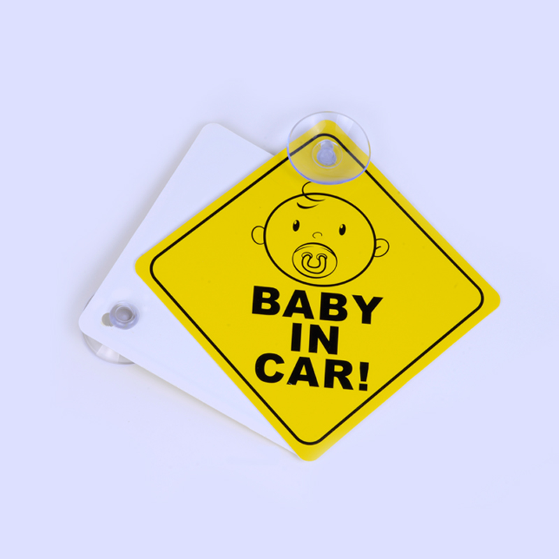 2 BABY ON BOARD WARNING SAFETY SIGN Sticker Vinyl Decal for car vehicle window