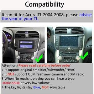 Image 5 - אנדרואיד 8.1 ROM32GB אוקטה core עבור אקורה TL 2004 2008 רכב רדיו GPS ניווט נגן רדיו מולטימדיה
