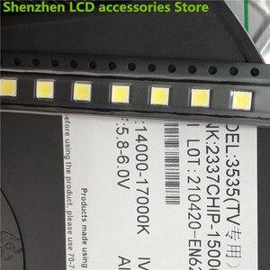Image 4 - 1000 قطعة ل LG 3535 2 واط 6 فولت 240ma 3535 SMD LED استبدال LG inنوت k تلفاز LCD الضوء الخلفي الخرز إضاءة خلفية للتلفاز ديود إصلاح تطبيق التلفزيون
