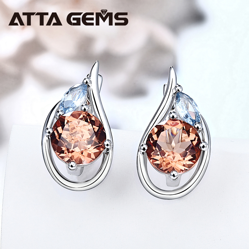 Zultanite султанит изменение цвета Sterling Silver Earring Women  4.6 Carats Created Diaspore for Birthday Anniversary Gifts