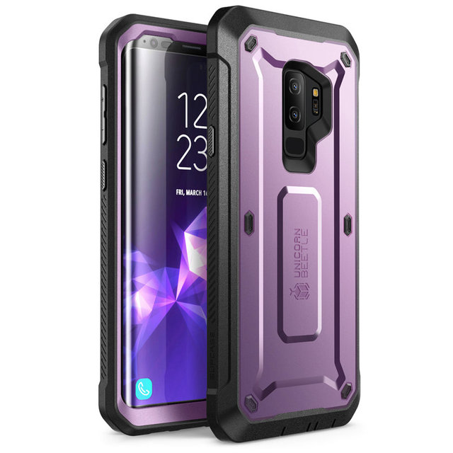 SUPCASE For Samsung Galaxy S9 Plus Case  UB Pro Full Body Rugged Holster Protective Case with Built in Screen Protector Cover