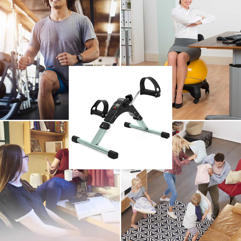 แบบพกพาฟิตเนสStepper Treadmill Cardio Steppersขาอุปกรณ์ฟิตเนสออกกำลังกายMiniปั่นจักรยานออกกำลังกาย