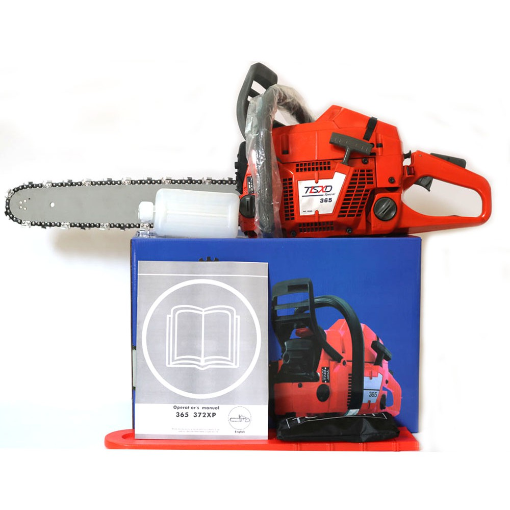 "Chainsaw HUS365 CHAINSAW ,65CC CHAINSAW Heavy Duty Petrol Chainsaw With 20""Blade"