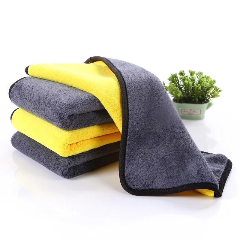 Universal Fiber Car Wash Towel Furniture Car Wash Absorbent Towel Cleaning Tool Decontamination Dust Removal 30*60CM/850GSM