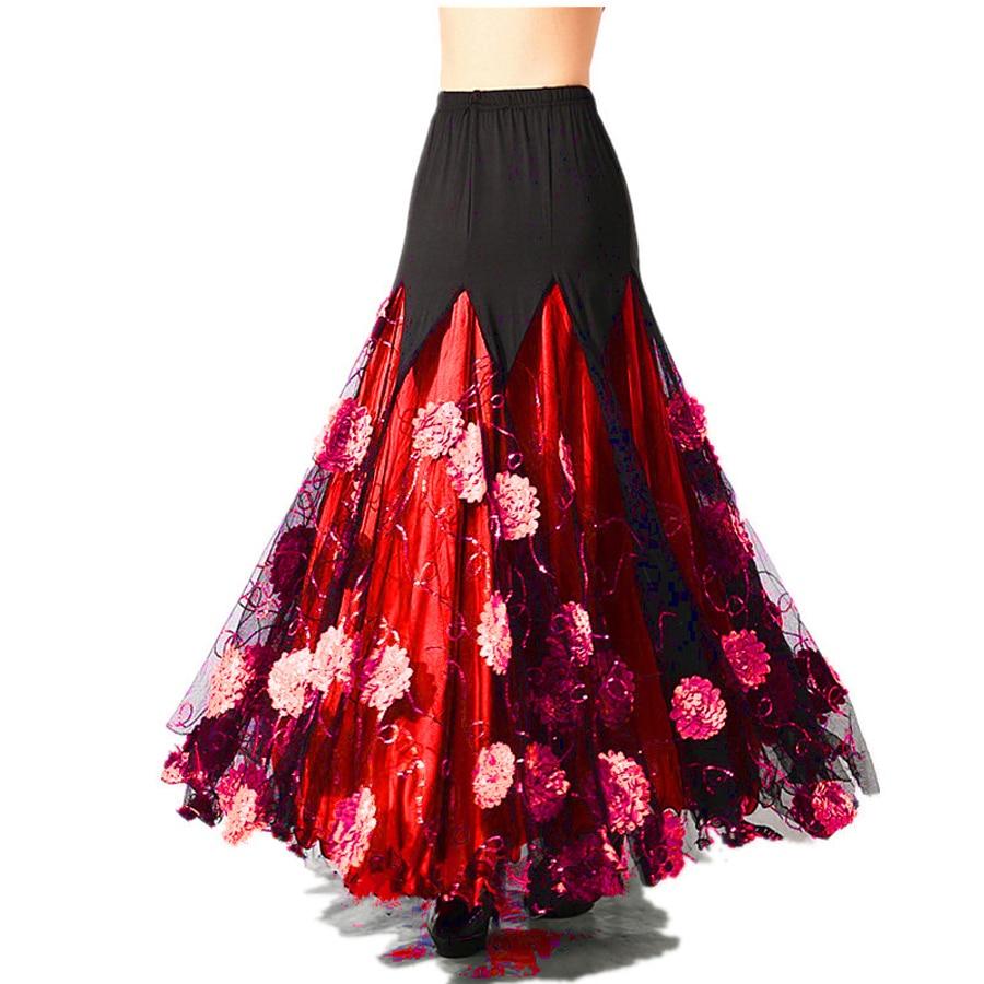 Luxurious Adult Bellydance Costume Skirts  Ballroom Dancing Gypsy Costume Skirt Belly Dance Waltz Indian Oriental Belly Skirt