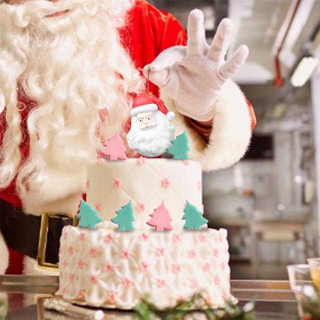 크리스마스 트리 모양 비누 금형 실리콘 튜브 열 금형 diy 비누 캔들 클레이 공예 만들기 도구 실리콘 비누 케이크 퐁당 금형