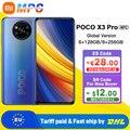 Глобальная версия POCO X3 Pro NFC 6 ГБ 128 ГБ/8 ГБ 256 Гб Смартфон Snapdragon 860 33 Вт NFC Quad AI Camera 120 Гц DotDisplay