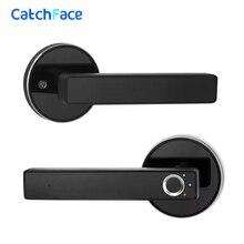 Blokada biometryczna półprzewodnikowa blokada z użyciem linii papilarnych inteligentny zamek do drzwi automatyczne drzwi antywłamaniowe zamek elektroniczny do domowego biura