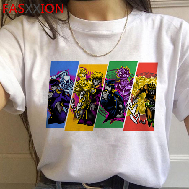 Kawaii Jojo Graphic T-Shirt