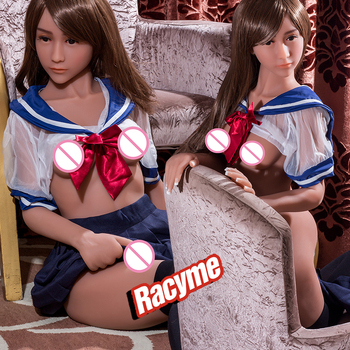 Sex Doll 155cm Full TPE with Skeleton Adult sex Japanese toy Love Doll Vagina Lifelike Pussy Realistic Sexy Doll For Men sex toy