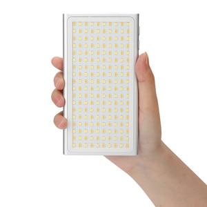 Image 4 - YB K10 LED Video ışık 12W cep boyutlu kamera LED Video ışığı 180 boncuk fotoğraf lamba ile montaj sony Nikon DSLR
