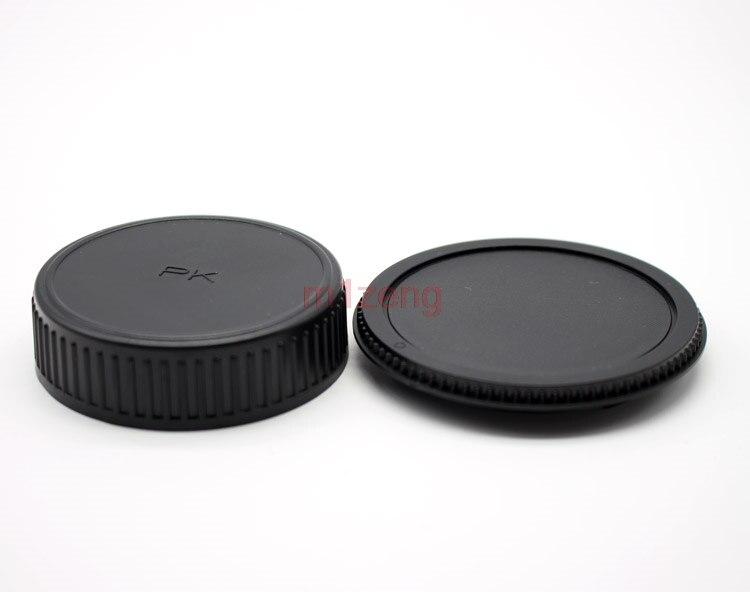 2 шт. задняя крышка для объектива Кепки/крышка + Камера тела Кепки протектор для DSLR PENTAX PK K KR KS K-1 K-S2 K-S1 K10D K20D K7 K5 k30 k50 k70 Kr км Kx