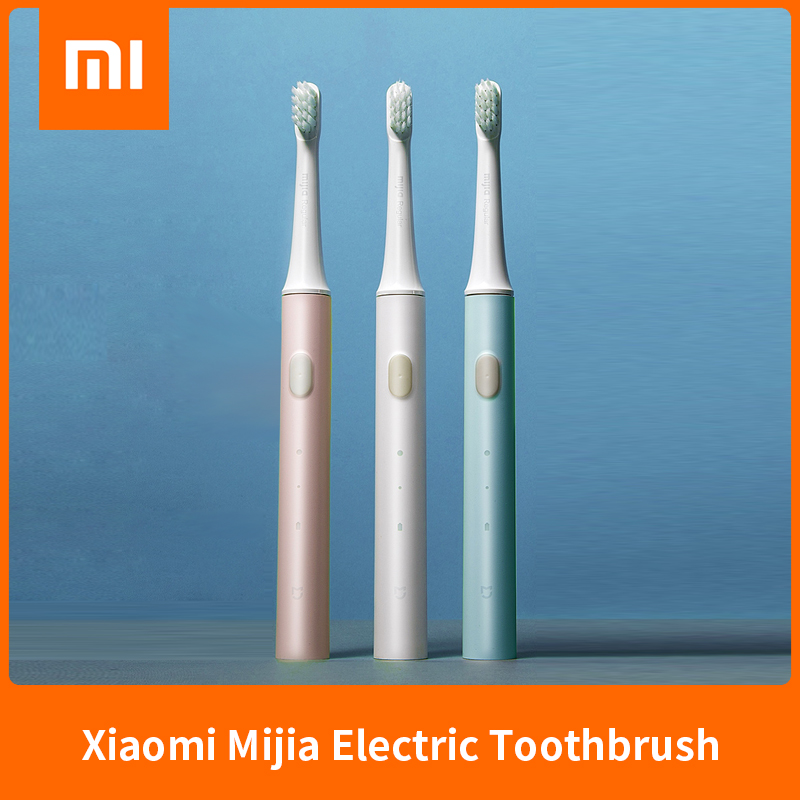 New Xiaomi Mijia T100 Mi Smart Electric Toothbrush Original 2 Speed Xiaomi Sonic Toothbrush Whitening Oral Care Zone Reminder