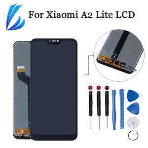 Image 1 - Qualità AAA Display Assembly Per Xiaomi Mi A2 Lite LCD Panel Digitizer Per Xiaomi Redmi 6 Pro Touch Screen di Ricambio