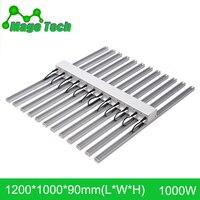1000W 1.2M LED Grow Light Heatsink Grow Strip Light Aluminum Heat Sink Grow Lighting(whole set Heatsink Only)