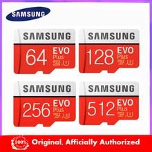 Novo produto Original SAMSUNG EVO + Cartões de Memória GB EVO 64 plus Class10 U3 128GB 256GB Micro SD UHS-I 32GB 16G microSD cartão Tf