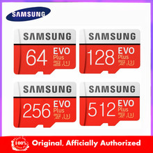 SAMSUNG-tarjeta de memoria EVO + Original, 64GB, EVO plus, U3, 128GB, 256GB, Clase 10, microSD, 32GB, 16 GB, UHS-I, TF, nuevo producto