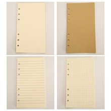 Creative PU Leather Cover Loose-leaf Tri-fold Notebook A6 Travel Handbook for Dairy Travel Office K3NB