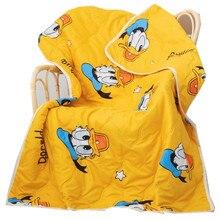 Disney Cartoon Cute Donald Duck Children Blanket Summer Quilt for Girls Boys Children Gift Throw Bedroom