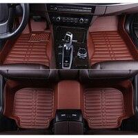New Customized car floor mats for Toyota Land Cruiser 100 200 Prado 120 150 RAV4 Camry Corolla Highlander Alphard Prius Yaris