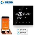Умный Wifi термостат Beok 220 В для электрического/водного пола, термостат Alexa Google Home