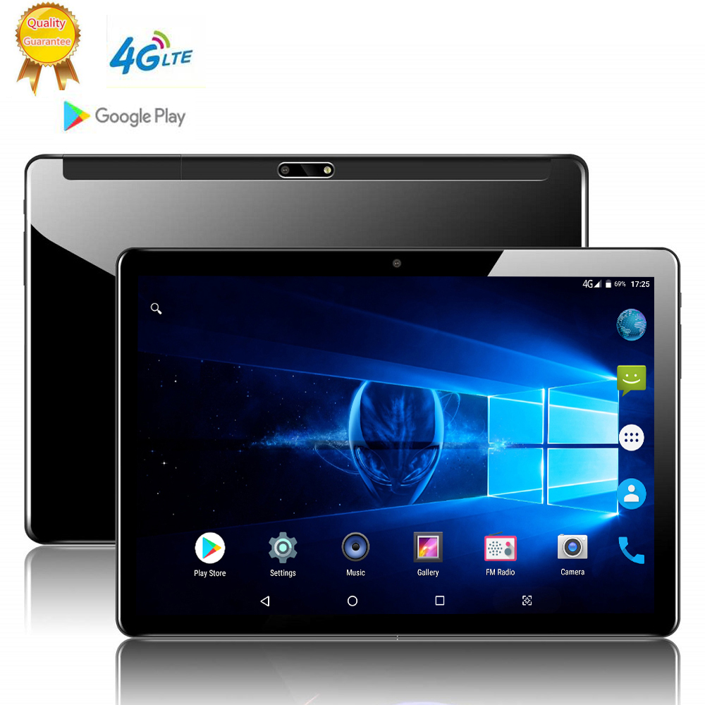 12GB ROM 10 Inch Tablet PC 8GB RAM Dual SIM Unlocked 4G LTE 3G WiFi Usb Bluetooth Android 9.0 Tablets The Tablet 10 Deca Core
