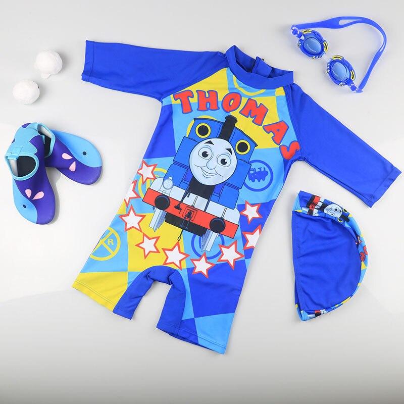 KID'S Swimwear Cute BOY'S Boy Sun-resistant Quick-Dry One-piece Swimwear Surf Wear Hot Springs Warm Swimming Trunks GIRL'S