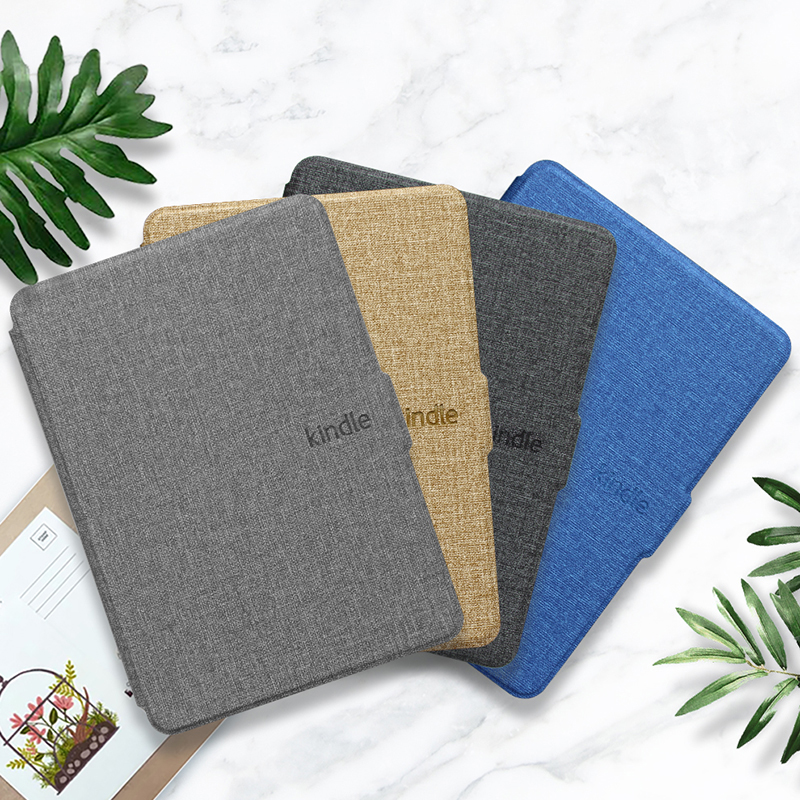 For Kindle Paperwhite 1 2 3 Case Magnetic PU Leather Hard Back Smart Cover For Kindle Paperwhite 1/2/3 2018 6 Inch Cover