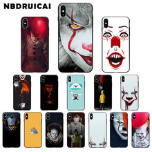 NBDRUICAI Clown Float to komiks komiks wysokiej jakości etui na telefon iPhone 11 pro XS MAX 8 7 6 6S Plus X 5 5S SE XR(China)