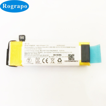 New 7.7V 875mAh Replacement Battery For DJI Osmo Pocket Batteries Accumulator thameen green pearl