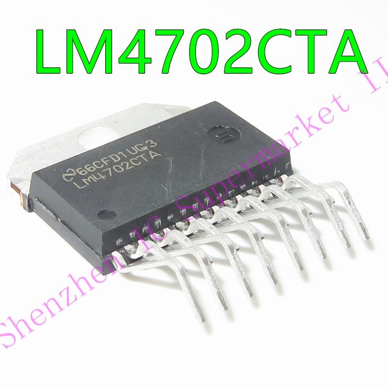 LM4702CTA LM4702 Plug-in ZIP-15 Audio Amplifier Original Spot