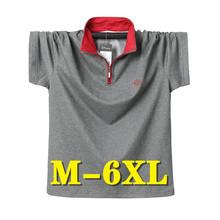 Letnie topy odzież męska Oversize koszulka Polo z krótkim rękawem koszula męska nowa moda na co dzień oddychająca biznesowa męska koszulka Polo moda tanie tanio BAOZHEFENG REGULAR Wakacyjny Odznaka Patchwork COTTON Plus size Kontrast kolorów Breathable Business Men s Polo Shirt Short Sleeve Polo Shirt Men