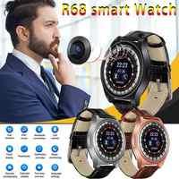 R68 Smart Watch Support Phone Call Dialer ECG Heart Rate Measure Smartwatch Waterproof Ip68 Watch Men Women Android IOS