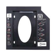 Ultrathin 9.5Mm Notebook Laptop Pc Cd Driver Slot Hdd Ssd Holder Bracket Plastic Sata Hard Disk Drive Optical Bay With Screwdriv