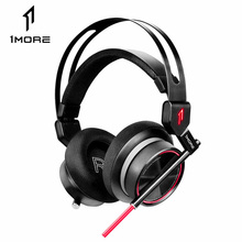 1MORE H1005 USB Gaming Headset Spearhead VR E Sports Headphones 7.1 Surround Sound Game LED Light Earphone for PC Computer Gamer
