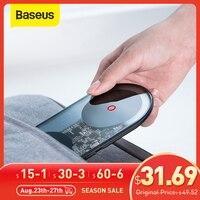 Baseus-24W Qi 무선 고속 충전기, 아이폰 11 XS 프로 2 인 1 화웨이 샤오미 용 빠른 EU 충전기