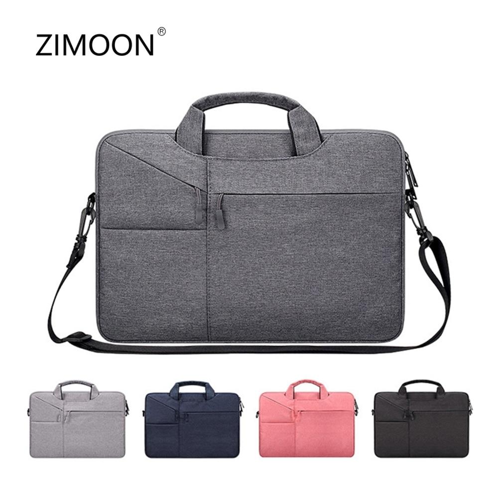 Laptop Shoulder Bag 15.6' Notebook Messenger Bag Multipurpose for 13.3' Macbook Sleeve Bag Travel Briefcase for HP DELL Xiaomi Pakistan