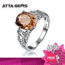 Zultanite kolor zmieniony kamień srebrny pierścionek kobiety specjalna konstrukcja obrączka 6 karatów utworzono Diaspore srebrny pierścionek zaręczynowy