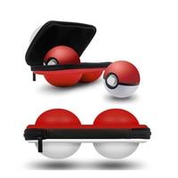 נייד משחקי 2 ב 1 נרתיק נייד עבור תיק משחקי Pokeball חלף Nintend תיבת חפצי מגן EVA בקר פלוס כדור חלף Poke (3)