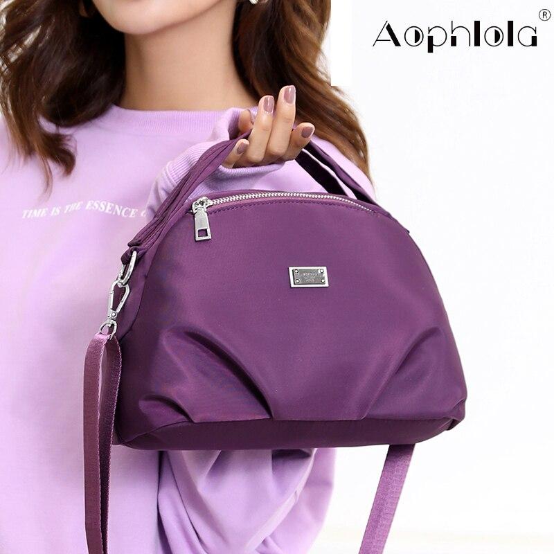 Waterproof Women Messenger Bag Female Small Nylon Shoulder Bags ladies hand bags Fashion Girls Crossbody Pack Bolsos Sac A Main