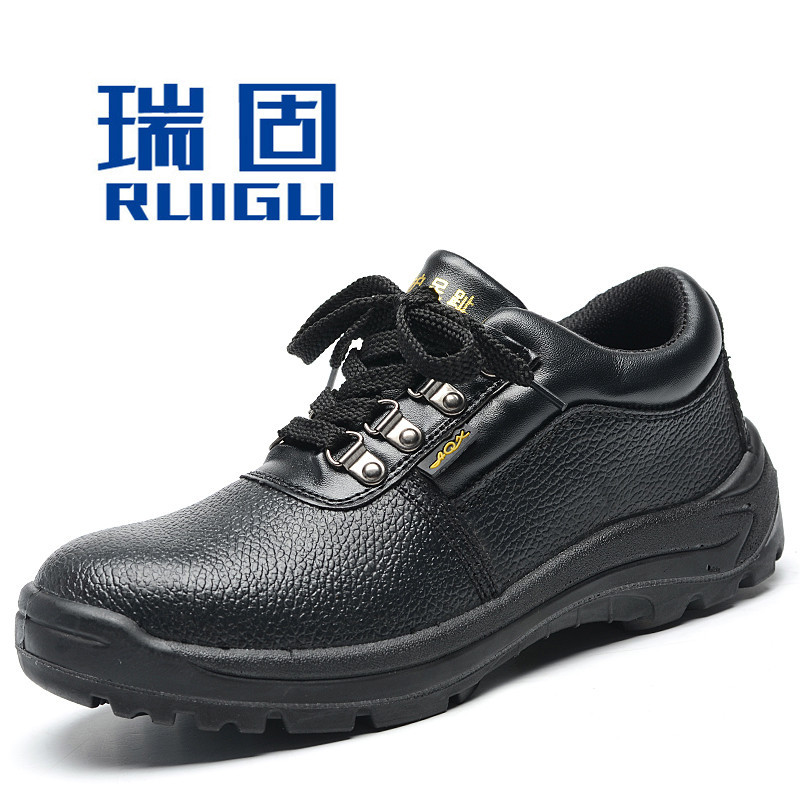 Currently Available Supply Pu Mold Plastics Safety Shoes Safe Protective Shoes Anti-smashing And Anti-penetration Anti-slip Manu