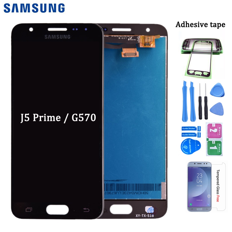 Original For Samsung GALAXY J5 Prime G570 G570Y LCD Display And Touch Screen Digitizer Assembly For Galaxy On5 2016 Lcd