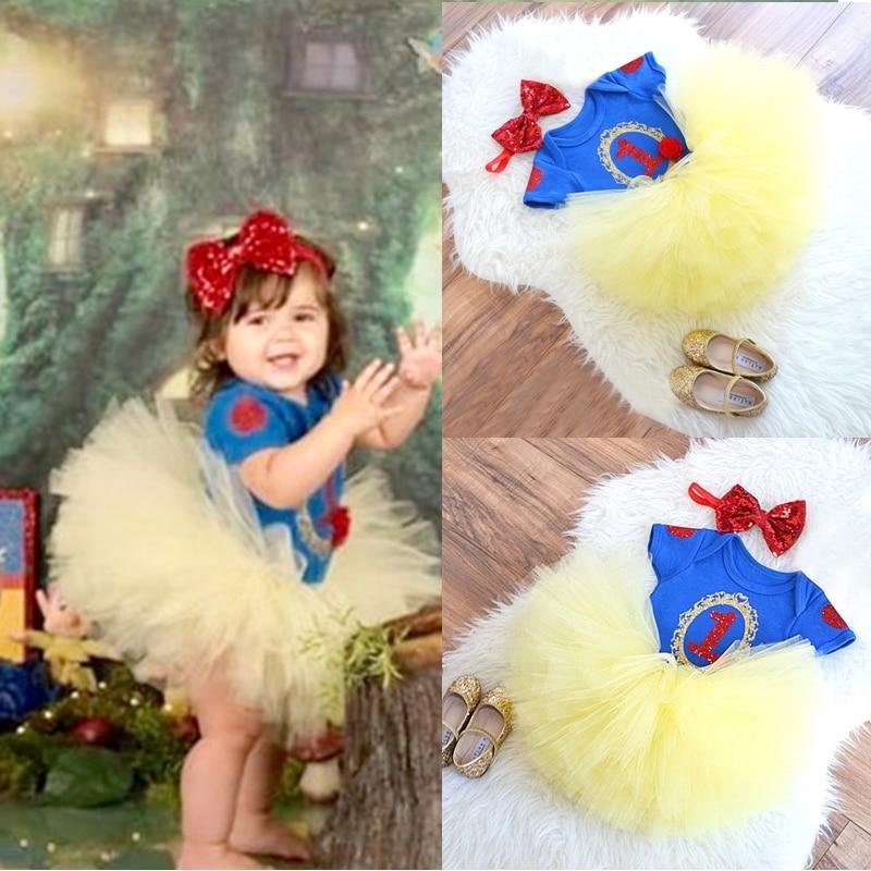 Детское платье-пачка с единорогом, на возраст 1 год