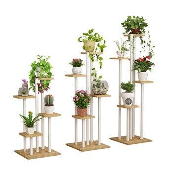 Metal Decorative Flower Shelf Multi-layer Household Balcony Plants Organizer Indoor Plant Stand Flower Stand Garden Decor Shelfs