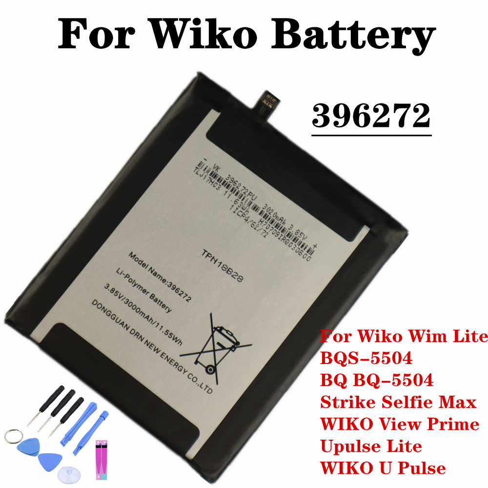 396272 Battery For Wiko Wim Lite / BQS-5504 BQ BQ-5504 Strike Selfie Max / Wiko View Prime / Upulse Lite / Wiko UPulse Battery