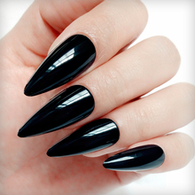 24Pcs Long Stiletto Artificial Fake Nail DIY False Nails Tip For Design Lady Press On Finger Tips Manicure Tools