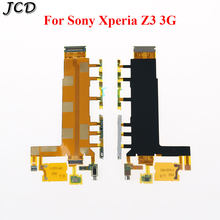 JCD For Sony Xperia Z3 3G Side Power ON OFF Volume Key Button Switch Flex Cable with Microphone Camera Shutter Vibrator Parts(China)
